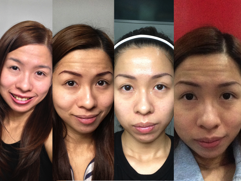 No Pain No Gain My First Eyebrow Tattoo Experience At Annies